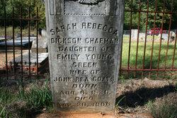 Sarah Rebecca Dickson <I>Chapman</I> Coats