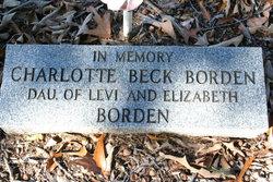 Charlotte Beck Borden