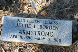 Jettie Lucretia <I>Borden</I> Armstrong