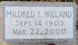Mildred F Wieland