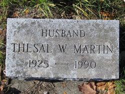 Thesal W Martin