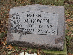 Helen L McGowen