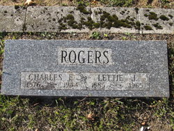 Lettie J <I>Bogas</I> Rogers