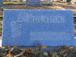 Lena <I>Mitchel</I> Rolston