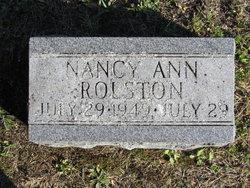 Nancy Ann Rolston