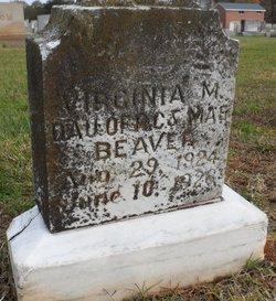 Virginia Mae Beaver