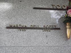 Martha Dell Scott Tooke