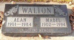 Mabel Gertrude <I>Burton</I> Walton