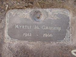 Myrtle M. <I>Rundhammer</I> Gauslin