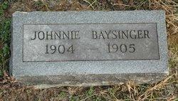 Johnnie Baysinger