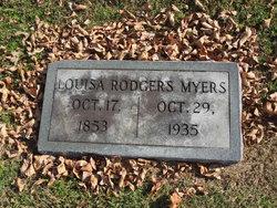Louisa Ann <I>Rodgers</I> Myers