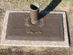 Minnie Branch Johnson