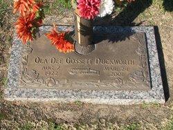 Ola Dee <I>Gossett</I> Duckworth