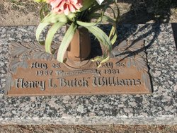 """Henry Lee """"Butch"""" Williams"""