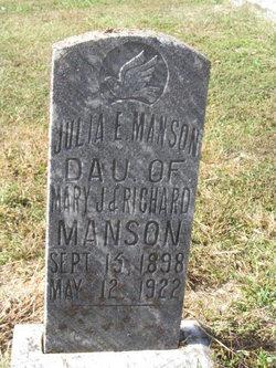 Julia E. Manson