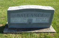 Anna Laura Jones <I>Belcher</I> Ballance