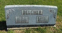 Etta C. <I>Easton</I> Belcher