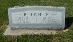 Nellie A. <I>Rogier</I> Belcher