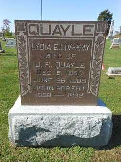 Lydia A. <I>Livesay</I> Quayle