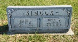 Ellen Louisa <I>Davidson</I> Simcox