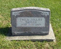 Twila <I>Jolliff</I> Taylor