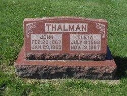 Eliza Cleta <I>Farmer</I> Thalman