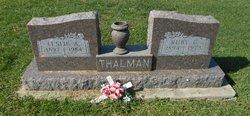 Ruby C. <I>Gilley</I> Thalman