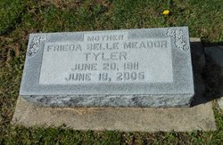 Frieda Belle <I>Stephens</I> Meador Tyler