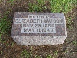 """Elizabeth """"Lizzie"""" <I>Belcher</I> Watson"""