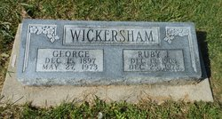 Ruby Jeanetta <I>Karr</I> Wickersham
