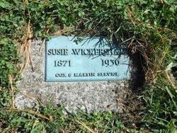 """Katherine Susan """"Susie"""" <I>Haley</I> Wickersham"""