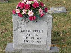 Charolette F Allen