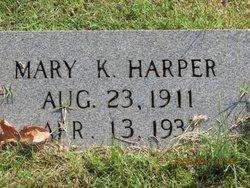 Mary K Harper