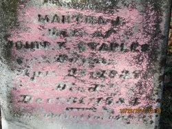 Martha J <I>Trobaugh</I> Staples