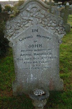John Maunder