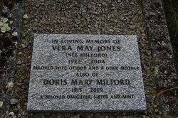 Vera May <I>Milford</I> Jones