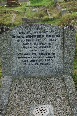 Rhoda Winifred Milford