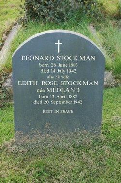 Edith Rose <I>Medland</I> Stockman