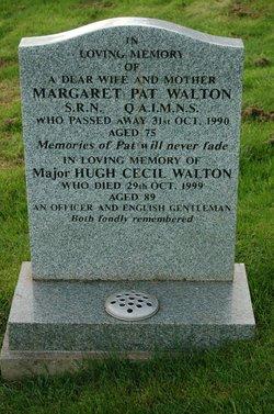Maj Hugh Cecil Walton