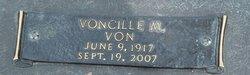 """Voncille Mildred """"Von"""" <I>McDaniel</I> Bourdene"""
