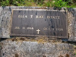 Ella Treacy <I>Ray</I> Hyatt