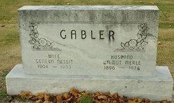 Geneva <I>Nesbit</I> Gabler