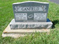 Althea M <I>Judd</I> Ganfield