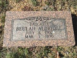 Beulah Aldridge