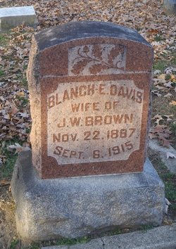 Blanch E. <I>Davis</I> Brown