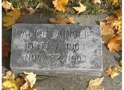 Alice Ainslie