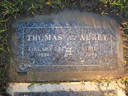Thomas Anthony Abbey, Sr
