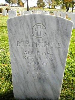 Blanche E Bills