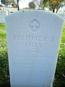 Fredrick J Bills