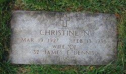 Christine N Dennis